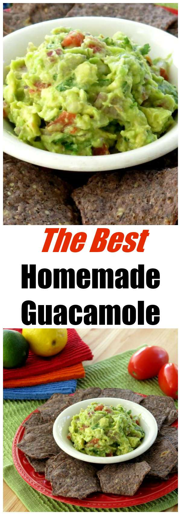 Holy guacamole! That just about sums up what you will say when you taste this simple homemade guacamole dip recipe. Follow an easy tutorial with pictures.