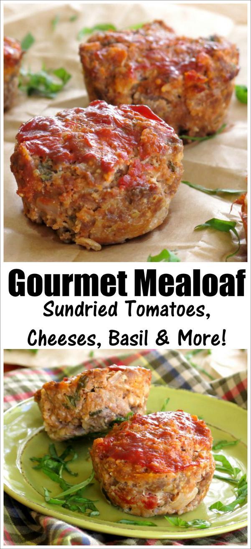 Easy Gourmet Meatloaf Recipe