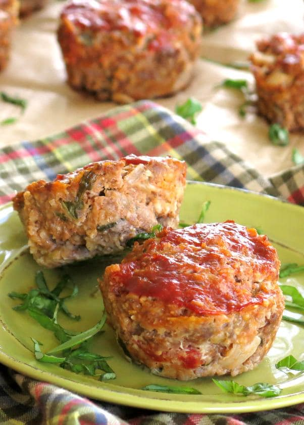 Gourmet Meatloaf Recipe with Sundried Tomatoes, 2 Cheeses, Fresh Basil and More!