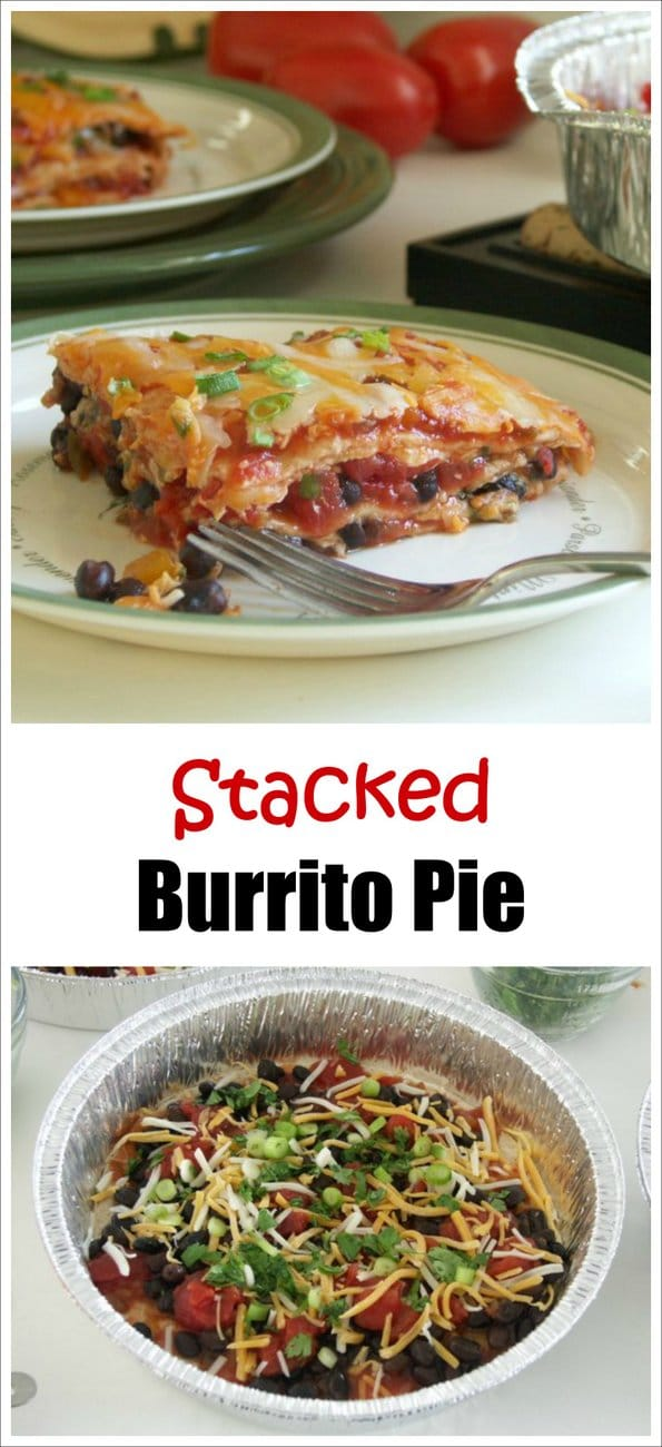 Stacked Burrito Pie Recipe