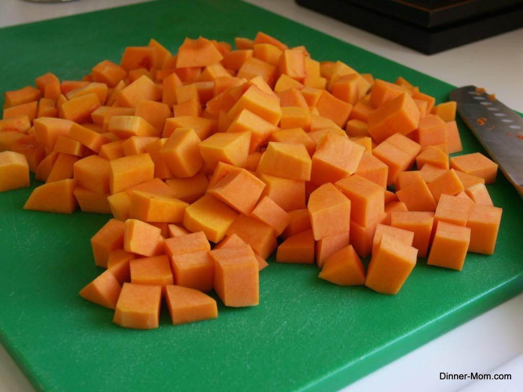 Butternut Squash Chopped
