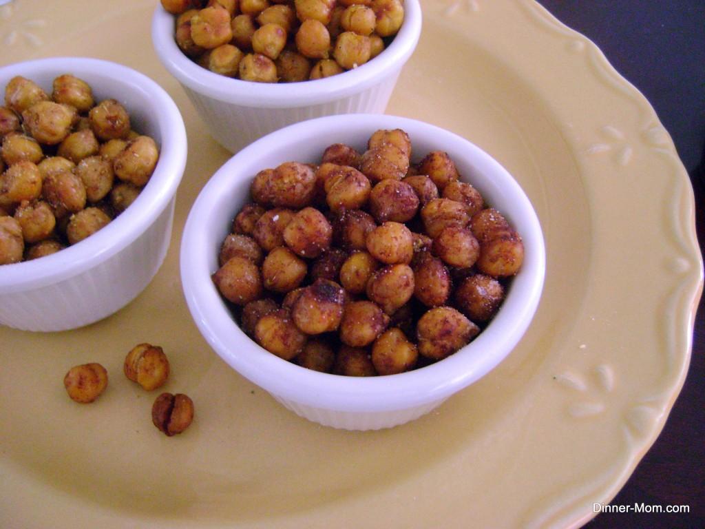 Cajun Roasted Chickpeas
