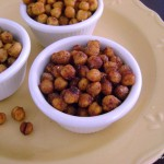 Spicy Cajun Roasted Chickpeas