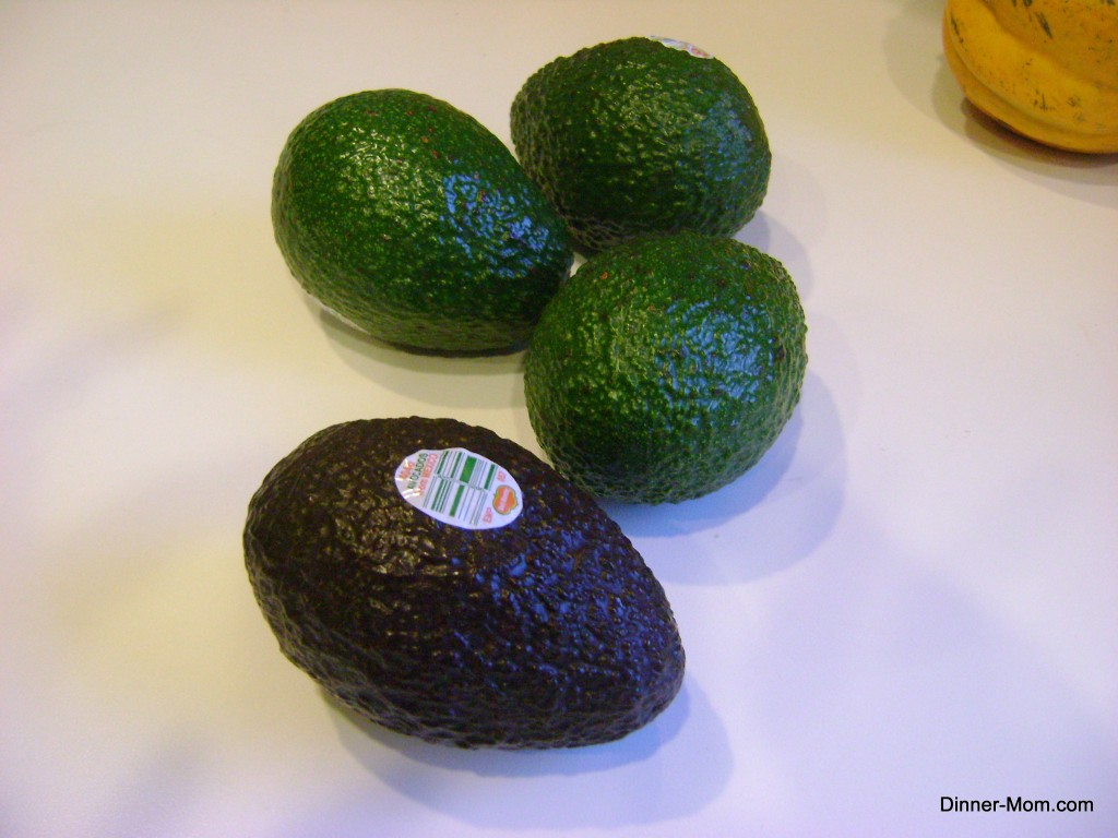 4 Haas Avocados for guacamole recipe