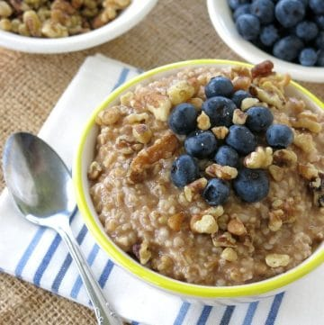 How to Make Steel Cut Oats in a Crock Pot Overnight