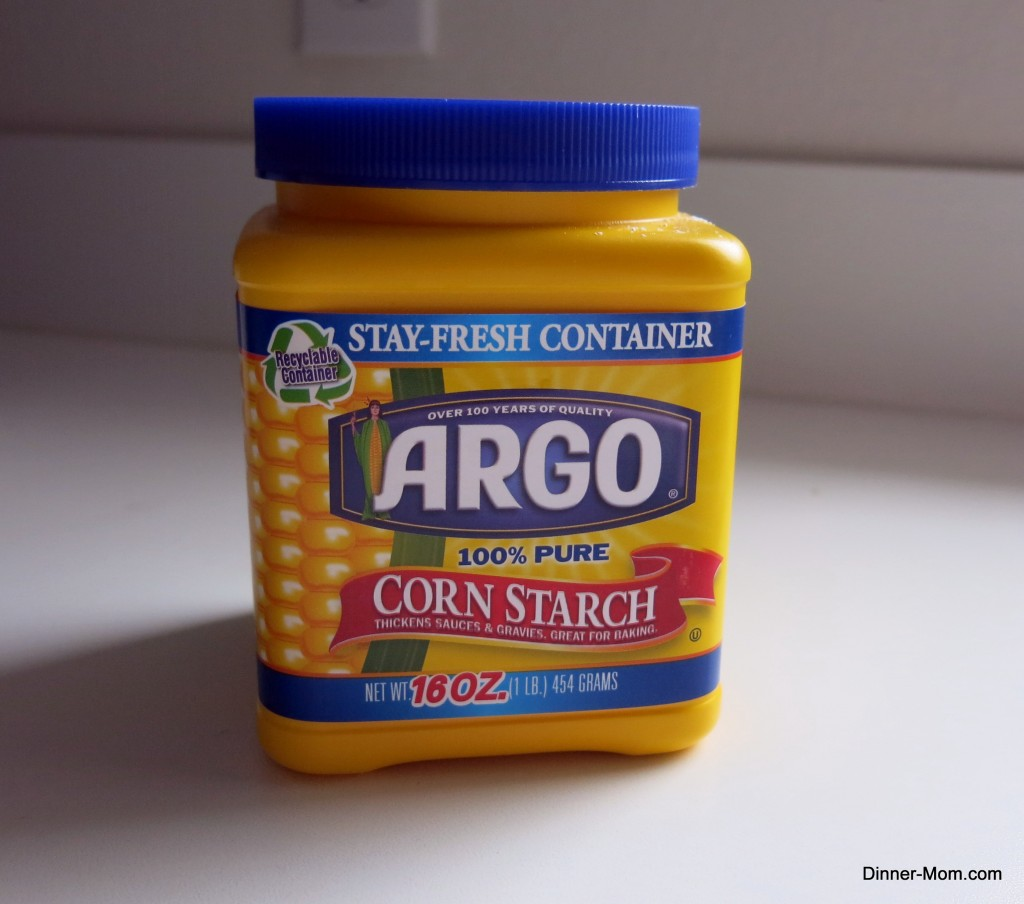 Container of Corn starch.