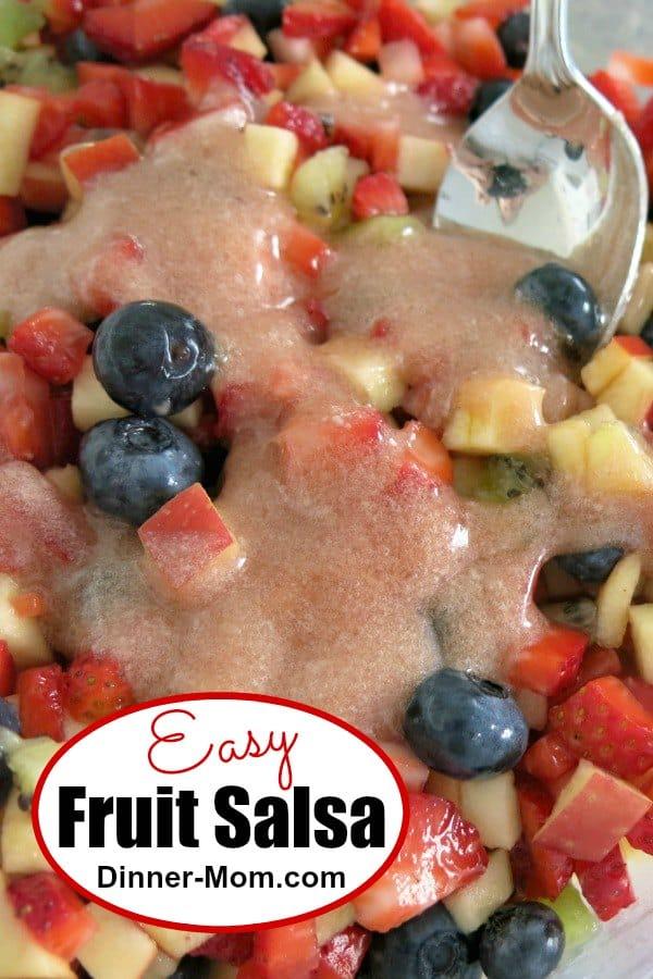 Easy Fruit Salsa Pin