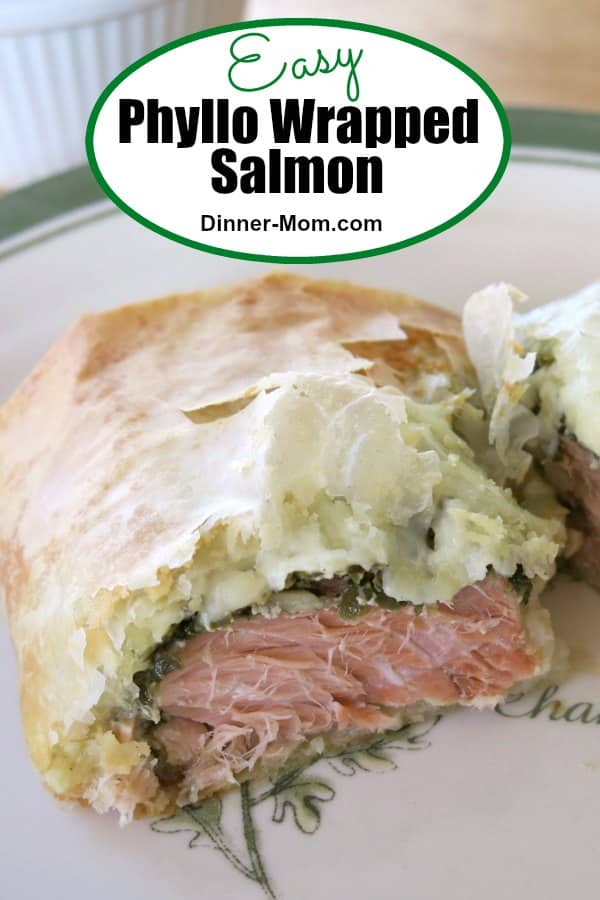 Easy Phyllo Wrapped Salmon Pin