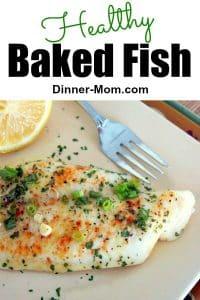 Healthy Baked Fish Pin