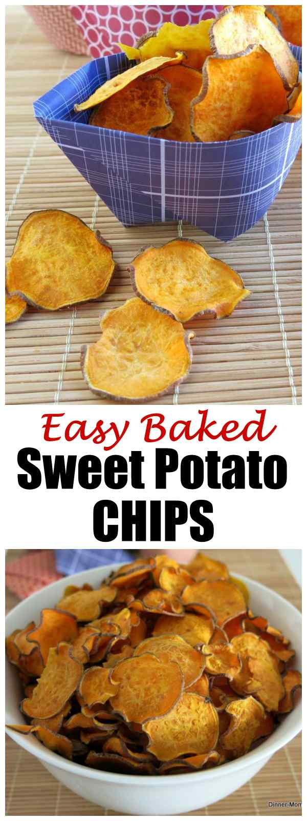 How to Make Easy Baked Sweet Potato Chips