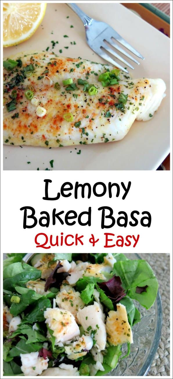Lemony Baked Basa Recipe