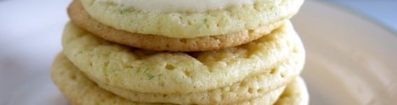 Key Lime Cookies and Key Lime Icing