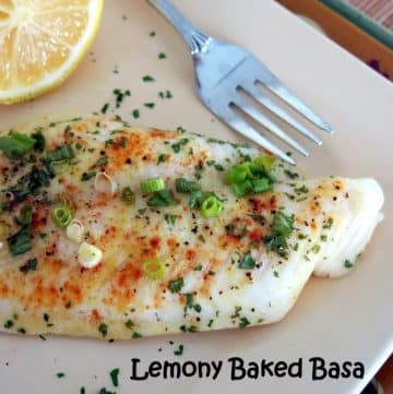 Lemony Baked Basa - Quick and Easy!