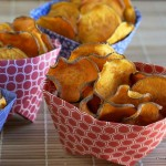 Sweet Potato Chips Baked to Perfection