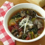 Hearty Vegetable Soup and Serving Ideas