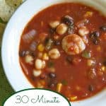 Shrimp tortilla Soup Pin