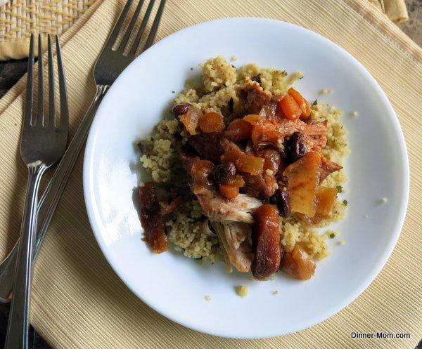 Crockpot Chicken Tagine