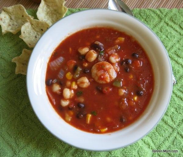 Shrimp Tortilla Soup