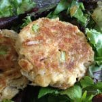 Best Crab Cake on lettuce