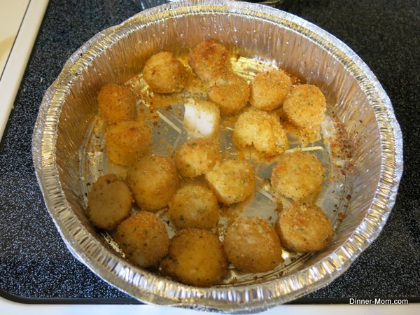 Broiled Scallops in a pan