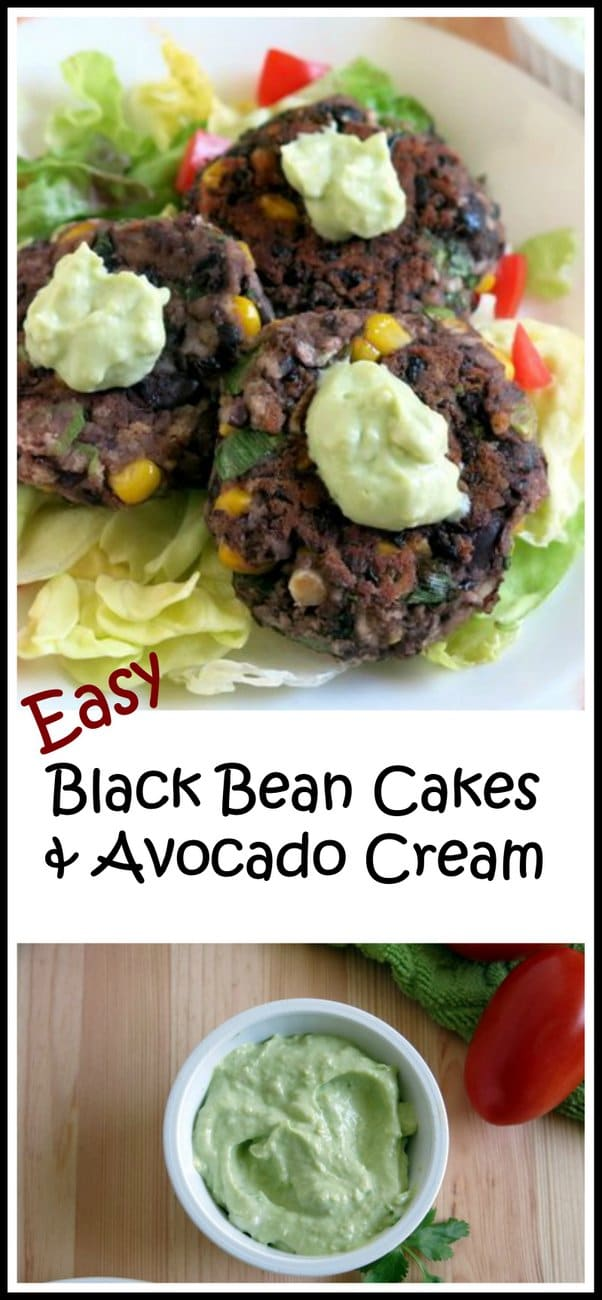 Black Bean Cakes With Mango-Lime Crema Recipes — Dishmaps