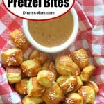 Easy Soft Pretzel Bites Pin