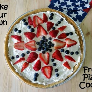 Fruit Pizza Cookie