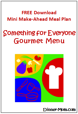 Mini Make Ahead Meal Plan