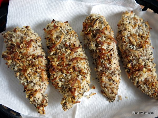 Nutty Baked Chicken Tenders