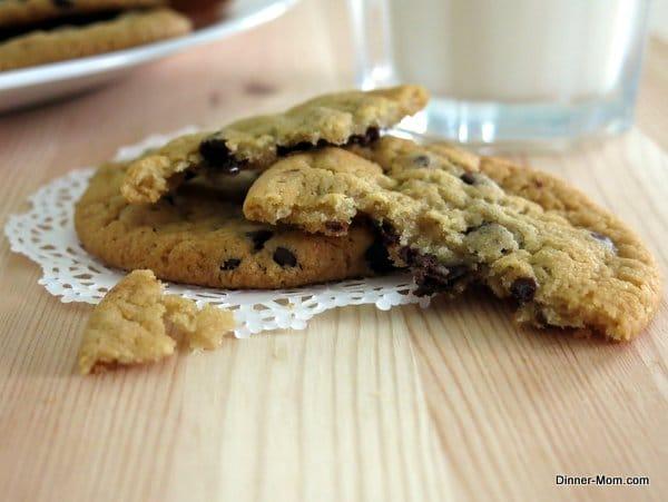 perfect vegan chocolate chip cookie 026