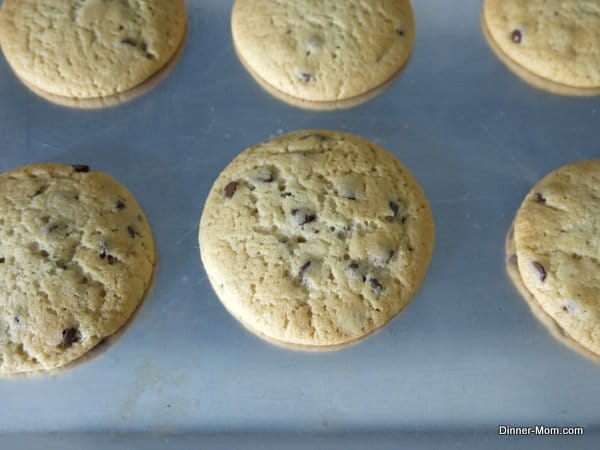 perfect vegan chocolate chip cookies fresh from oven
