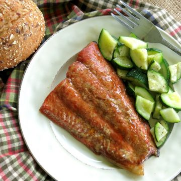 Bourbon Marinated Salmon Recipe
