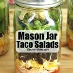 Mason Jar Taco Salads Pin