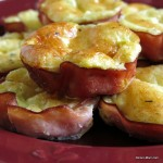 Ham Quiche Cups {Low-carb, Gluten-free}