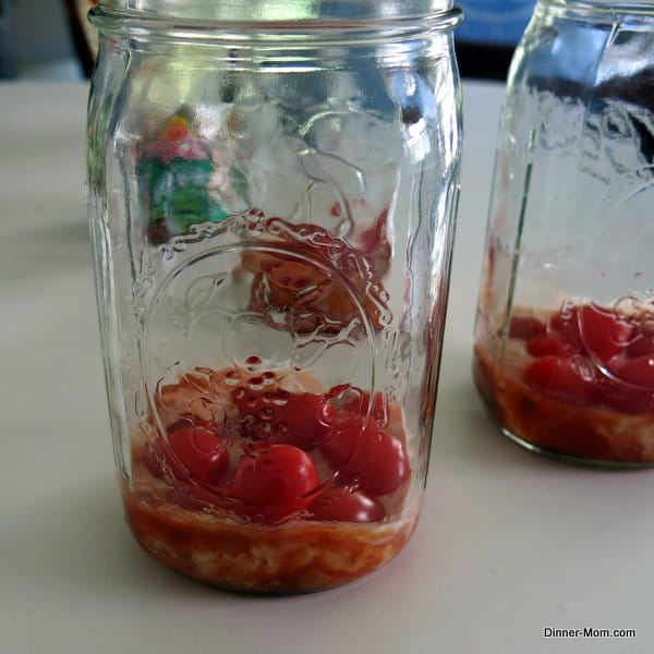 Bottom Layer of a Taco Salad in a Jar