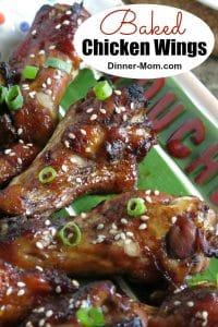 Baked Chicken Wings Pinterest