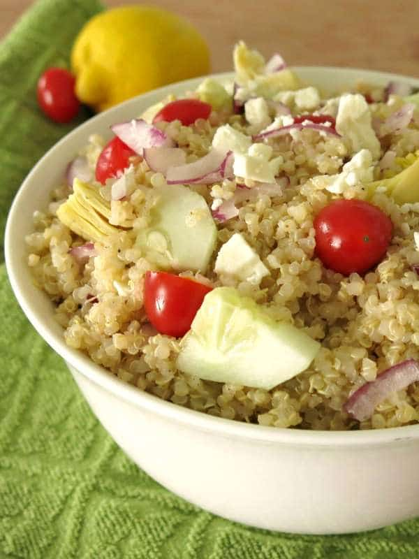 Recipe for Greek Quinoa Salad
