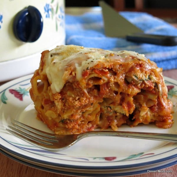 Crock Pot Baked Ziti