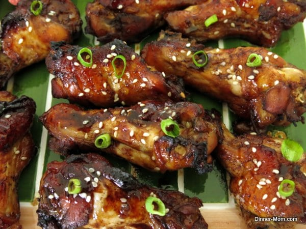 Mahogany-Glazed Chicken Wings Recipe — Dishmaps