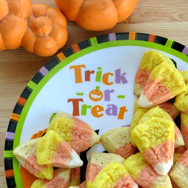 Candy Corn Decorated Cookies Recipe