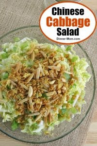 Chinese Cabbage Salad Pinterest