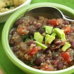 Black Bean Quinoa Soup – Simple Recipe!