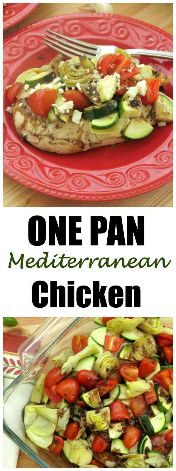 One Pan Mediterranean Chicken Bake Recipe