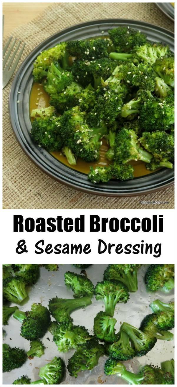 Roasted Broccoli and Sesame Dressing Recipe