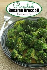 Roasted Sesame Broccoli Pin