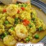 Couscous Shrimp Recipe Pin