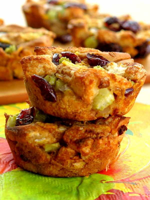 Vegan Stuffing Muffin Recipe