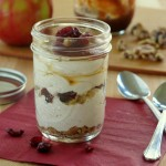 Apple Cheesecake Parfaits