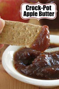 Crock-Pot Apple Butter Recipe Pin