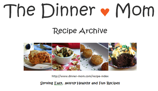 Dinner-Mom Recipe Index
